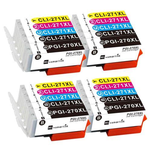 PGI-270 XL CLI-271 XL Ink Cartridge Set Lot for Canon PIXMA MG5720 MG6800 MG7700