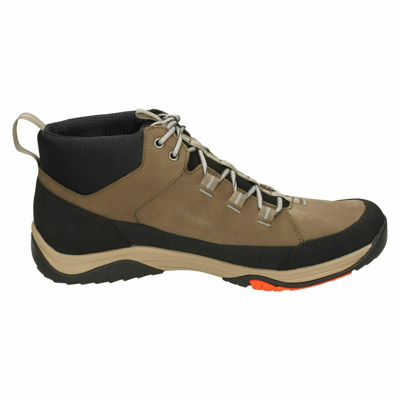 Mens Clarks Baystone Hi GTX Ankle Leder Waterproof Lace Up Ankle GTX Stiefel 4212e9