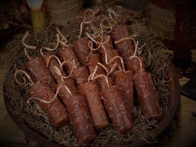 ~PUMPKIN PIE SPICE~  PRiMiTivE GRuNgY handmade Bowl Filler Nugget candles