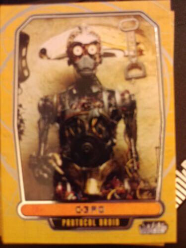 Star Wars 2012 Galactic Files 1 #17 C-3PO Protocol Droid NrMint-MINT
