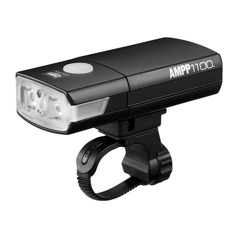 CATEYE Waterproof ciclismo bicicletta Head Light USB Rechargeable LED 1100Luuomini