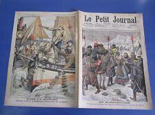 Le petit journal 1904 733 Manchourie khoungouses rixe pécheurs anglais francais