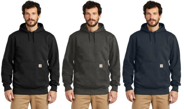 Carhartt Mens Paxton Heavyweight Sweatshirt Rain Defender Hooded Pullover 100615