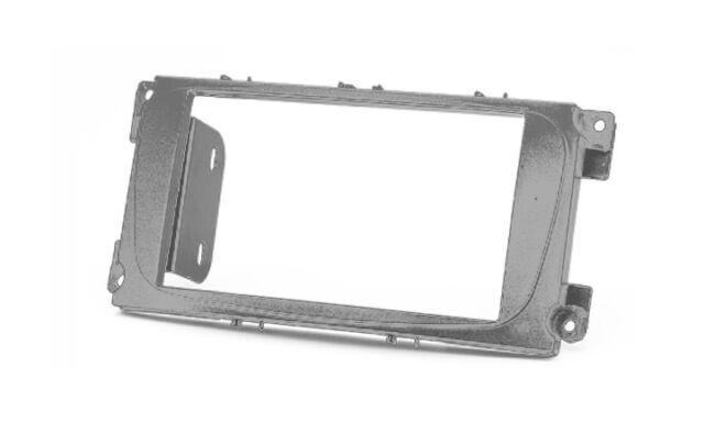 CARAV 11-416 Radioblende für FORD Focus 2 Mondeo C-Max S-Max silber doppel DIN