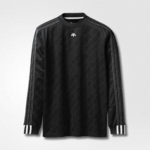 Image is loading adidas-ORIGINALS-X-ALEXANDER-WANG-LONG-SLEEVED-FOOTBALL- e9a8849277b