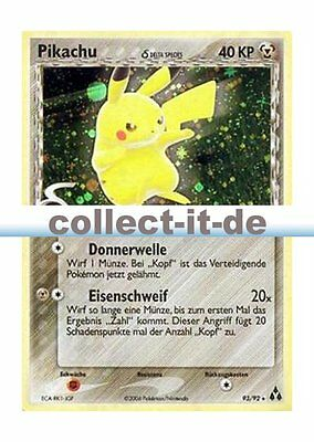 Pokemon EX Legend Maker 93/92 - Pikachu - Holo Deutsch