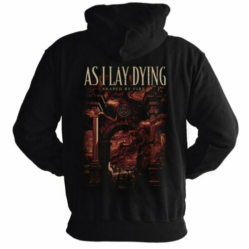 As I Lay Dying-Shaped by fire Capuche Veste Zipped Hoodie