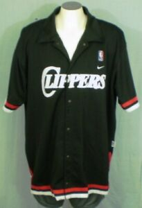 Details about Los Angeles Clippers Warm Up Jacket Black 3XL Nike