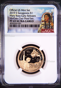 2019-S-Proof-Native-American-Mary-Ross-NGC-PF69-ER-Dollar-from-mint-10-coin-set