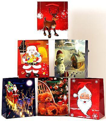 Geschenktüten 96 Stk. A5 (Mini) Weihnachten Kinder Weihnachtsbeutel Tragetasche