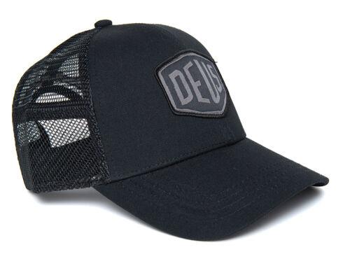 Deus Ex Machina Woven Shield Trucker Cap Blue Größe Einheitsgröße