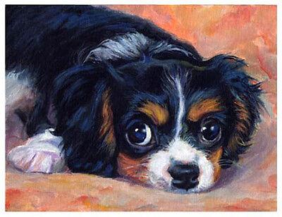 artav Cavalier King Charles Spaniel 02 Art Print