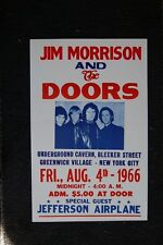 The Doors 1966 White Poster Greenwich Village New York