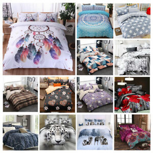 2020-New-Soft-Doona-Duvet-Quilt-Cover-Set-Single-Double-Queen-King-Size-Bed