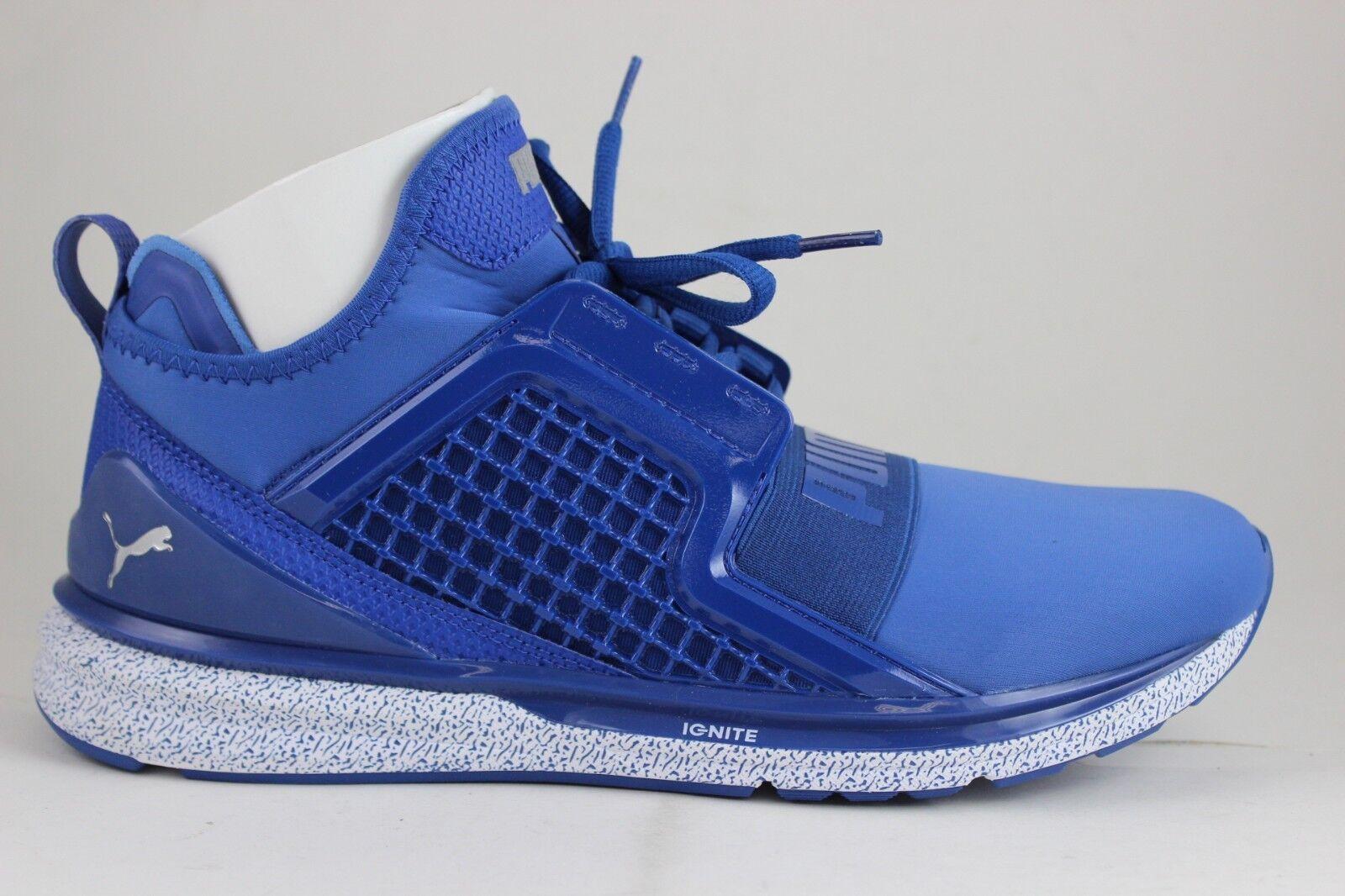 Puma Homme Ignite Limitless Training Sneakers True Bleu 18964103 Brand New