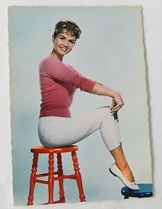 CP-Photo-couleur-Debbie-REYNOLDS-Actrice-americaine