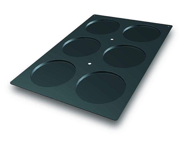 Premium-Silicone Moule 6 x génoise, en-Mesure 60 x 40 cm en Gastronomie-Qualité