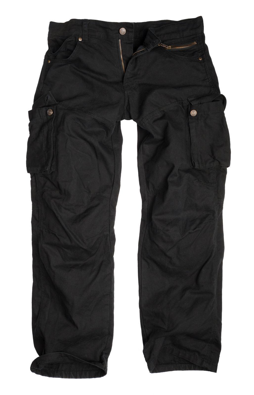 Halle 15 Clothes Cargohose Vintage Cargo Trouser Canvas Schwarz  H15 Merch