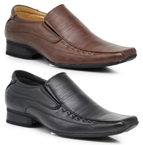 Parrazo Men Dress Shoes Oxford Leather Lined Lace Up Black Tan Jusbir