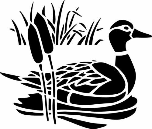 Duck /& Cañas de la plantilla