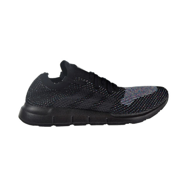 f406b8288b81 adidas Swift Run PK Mens Cg4127 Black Grey Primeknit Running Shoes ...