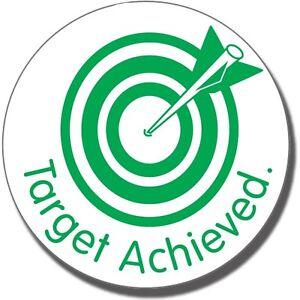 Target-Achieved-Pre-inked-School-Marking-Stamp-For-Teacher-Pupil-Children-25MM