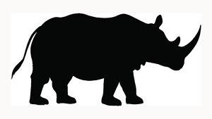 Rhinoceros-Sticker-Rhino-Outdoors-Wild-Car-Window-Laptop-Vinyl-Decal-Cool-Gift