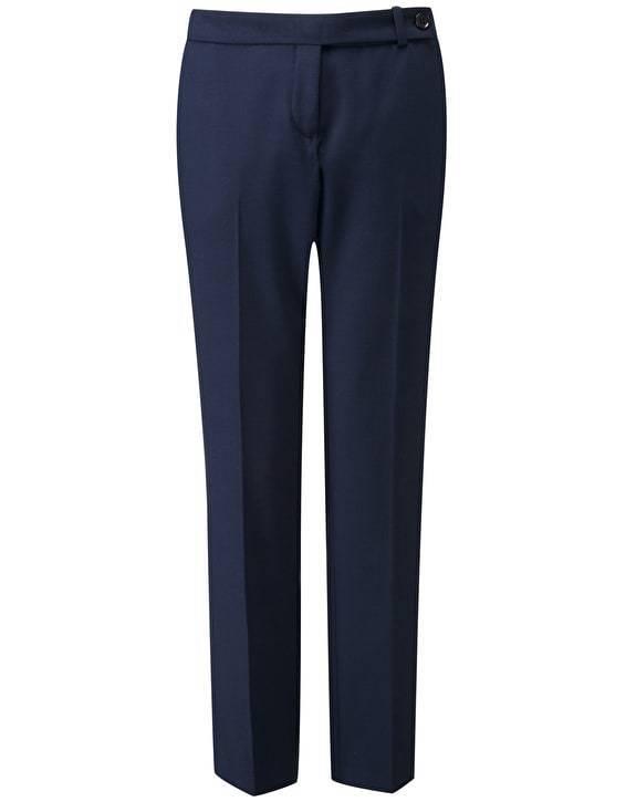 BNWT Pure Collection Tailorojo Tobillo Longitud Pantalones-Azul Marino-PVP 120     estilo clásico