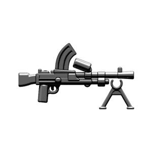 BrickArms Black M3 Grease Machine Gun Weapons for Brick Minifigures
