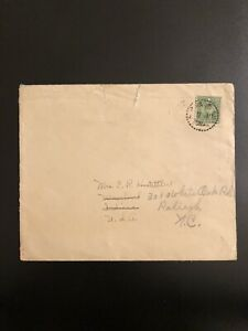 Early-Postage-Cover-Envelope-China-To-USA-US-5-Green-Dr-Sun-Yat-sen-Stamp