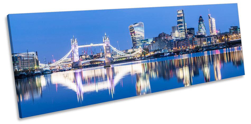 Ciudad de Londres famosos monumentos de LONA LONA LONA parojo arte Pano enmarcado impresión d2b150