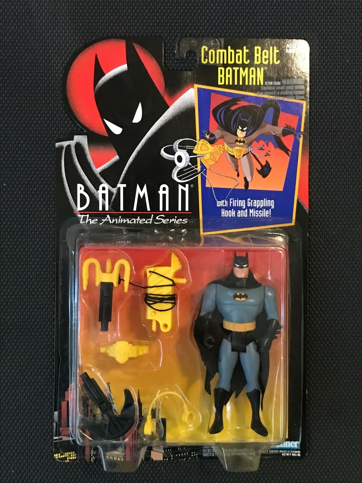 Btas der animierten serie gegen grtel batman 1992 kenner moc