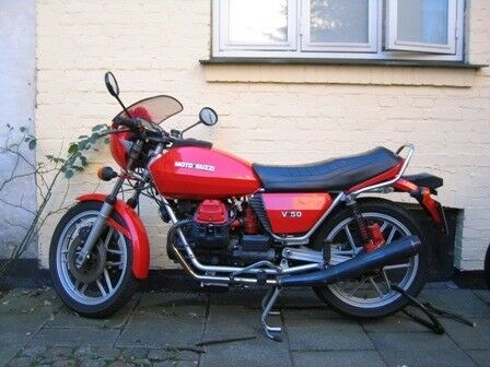 Moto Guzzi V50 årg. 1979: Benzintank