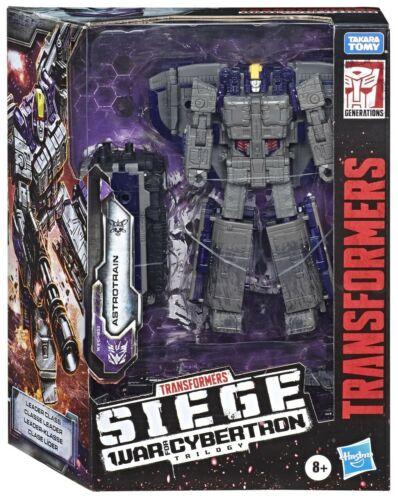 CASE Fresh USA Transformers siege guerre pour Cybertron Leader Class Astrotrain NOUVEAU