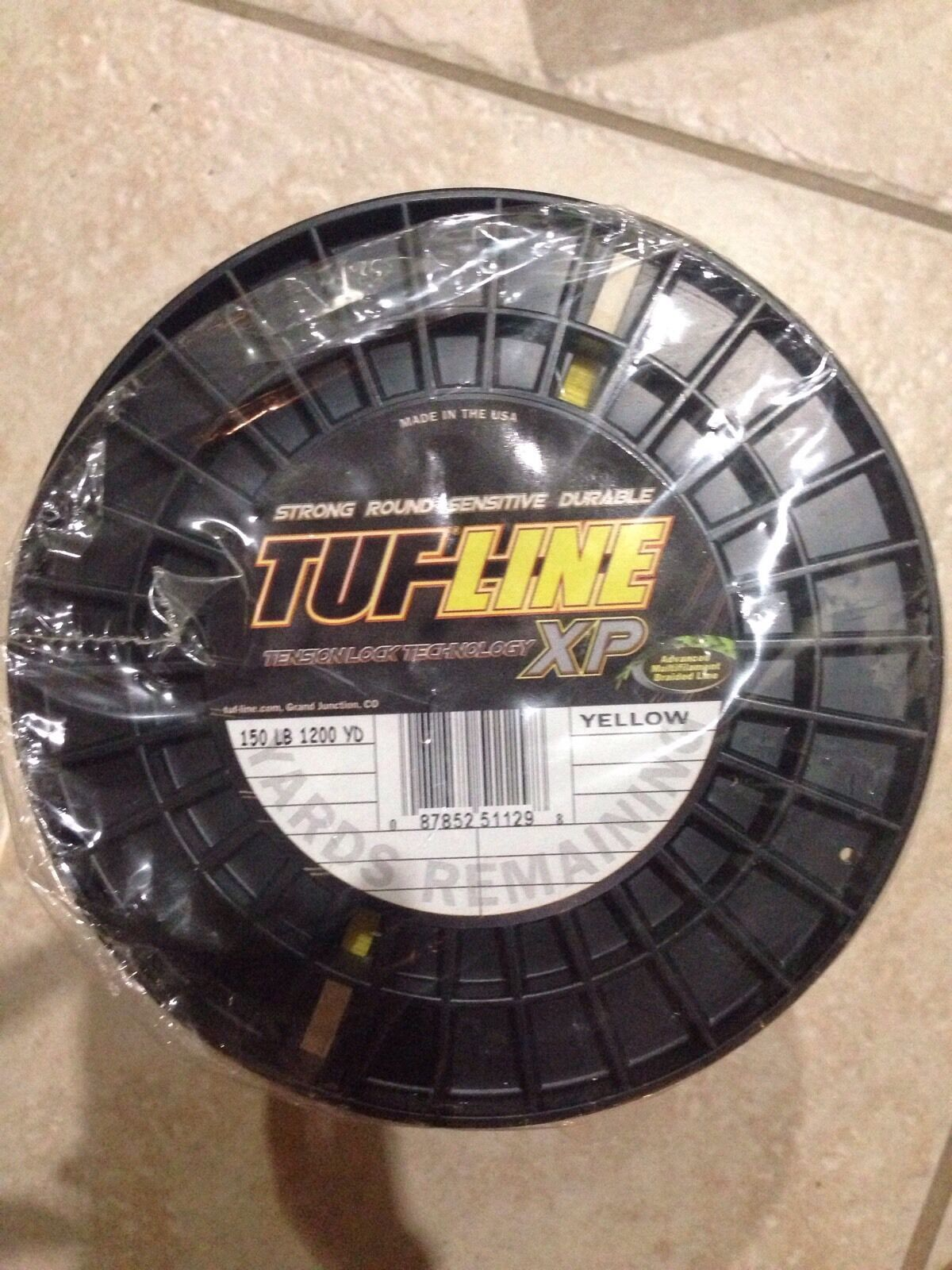 TUF- LINE  150lb 1200yards Braided Fishing Line. MADE IN USA. 30% OFF.  wholesale price and reliable quality