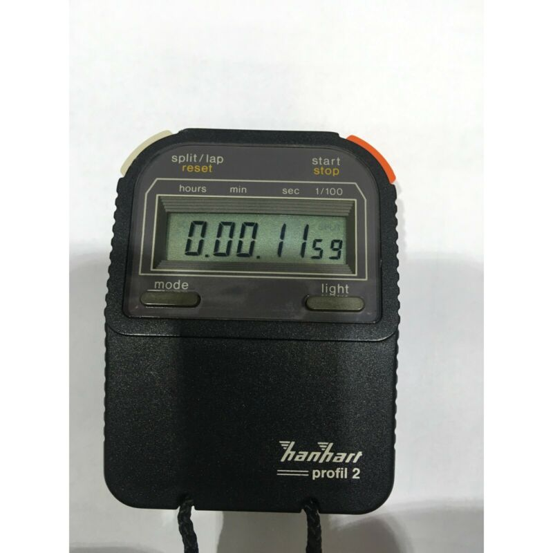 Hanhart profil 2 professional stop watch