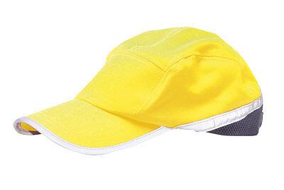 100% Wahr Portwest Hi Vis Baseball Cap (100% Polycotton) (one Size)