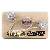 Emerson Custom Strat 5-way Prewired Kit - Free Shipping