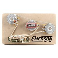 Emerson Custom Strat 5-way Prewired Kit - Free Shipping