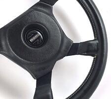 Momo Ghibli 350mm leather car steering wheel. Genuine Classic, 1981 ***SUPERB***