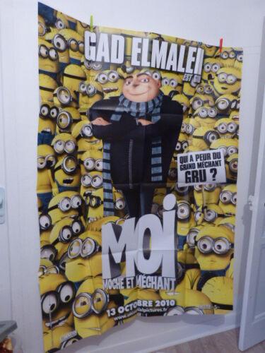 affiche  cinema , moi moche et méchant   120cm x160 cm