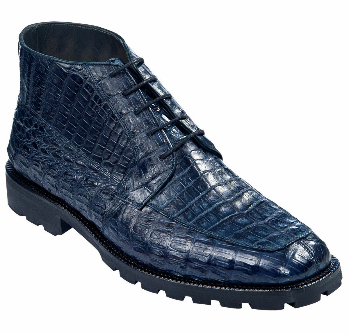 LOS ALTOS GENUINE ALL CROCODILE CAIMAN NAVY Uomo ANKLE BOOT BOOT BOOT (EE) WIDTH ZA2068210 57886a