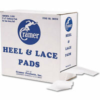 Cramer Heel & Lace Pads Box Of 2000 on sale