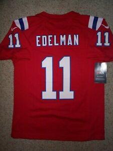 Details about (2020-2021) Patriots JULIAN EDELMAN nfl NIKE Jersey YOUTH KIDS BOYS (m-medium)
