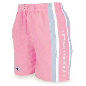 Image Is Loading Las Urban Beach Pink Surf Board Shorts Summer