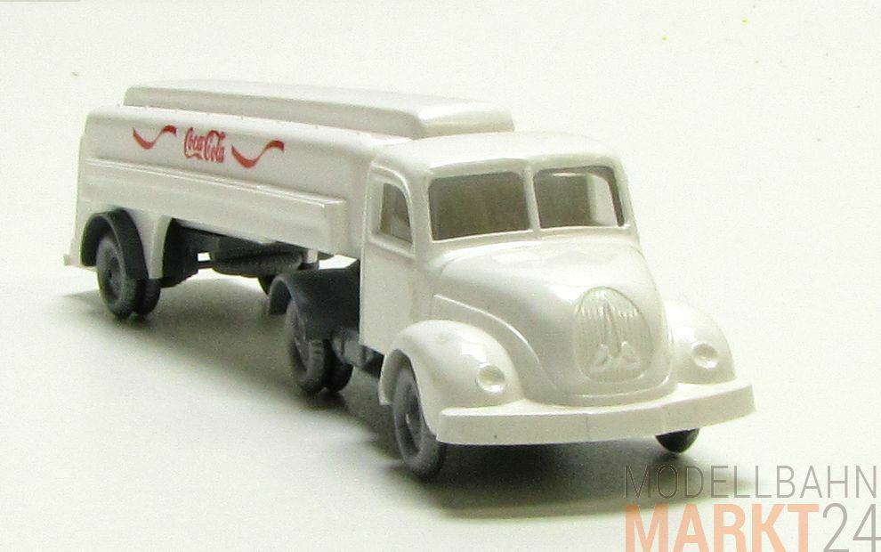 IMU Replica Magirus 3500 Truck Lorry  Coca Cola  White Single Piece h0 1 87
