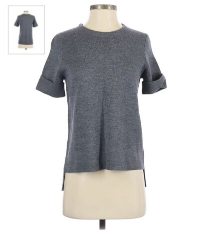 NEW Madewell Short-Sleeve Pullover Sweater