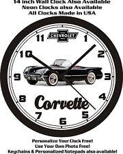 1954 CHEVROLET CORVETTE WALL CLOCK-FREE USA SHIP!