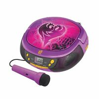 Descendants Radio Player Boom Box With Mic (de-430.ex Cd) Free Shipping