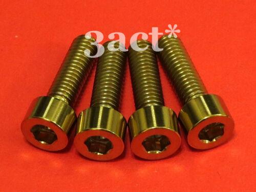 XT XTR 4 pcs M6 x 20mm Titanium // Ti Bolt Gold LX Disc Brake Caliper Mount